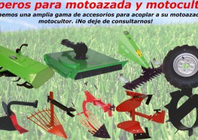 APEROS MOTOCULTOR Y MOTOAZADA