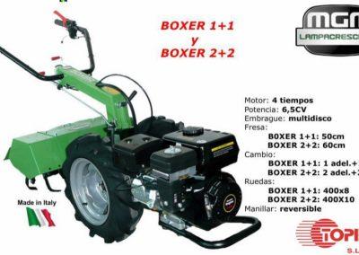 BOXER1+1, BOXER2+2