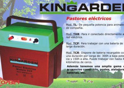 PASTORES ELÉCTRICOS KINGARDEN